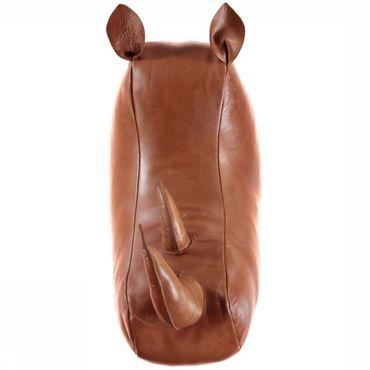 Decoratie  Leather Rino Wall Mount