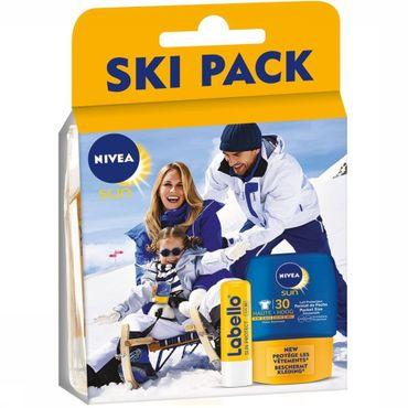 Cadeau Ski Pack Labello Sun+Pocket SPF30