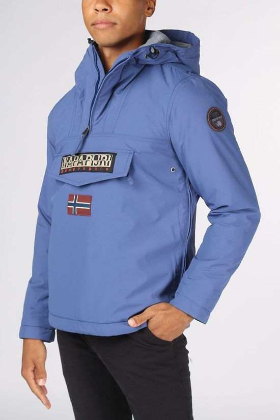 Napapijri Coat Rainforest mid blue