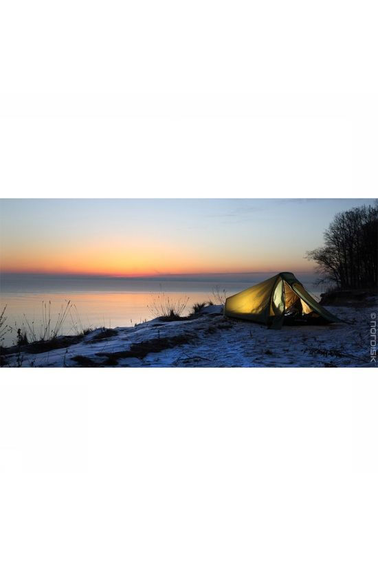 Nordisk Tent Svalbard 1 SI mid green