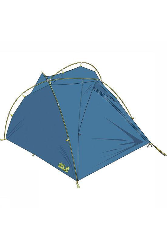 Jack Wolfskin Tent Exolight II | A.S.Adventure