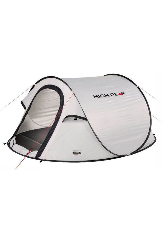 High Peak Tent Pop Up Vision 2 Lichtgrijs