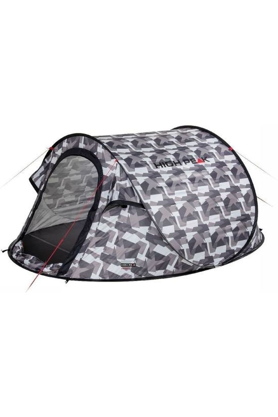 High Peak Tent Pop Up Vision 2 Mid Grey/Ass. Camouflage