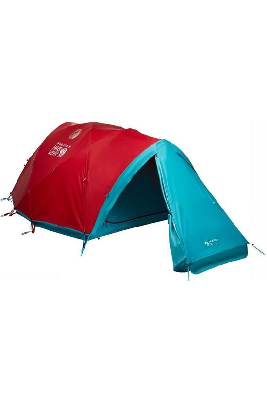 Mountain Hardwear Tent Trango 3 Red/Petrol
