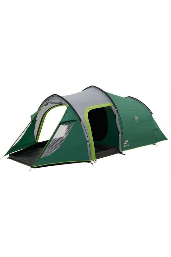 Coleman Tente Chimney Rock 3 Plus Vert/Gris Moyen