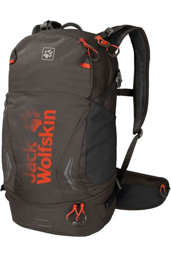 Jack Wolfskin Daypack Moab Jam 30 dark brown/orange