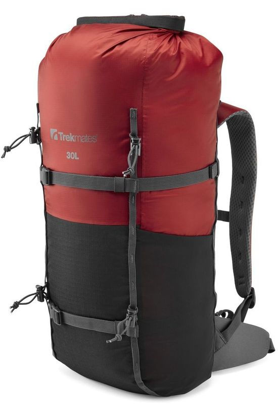 Trekmates Daypack Drypack Rs 30L red/black