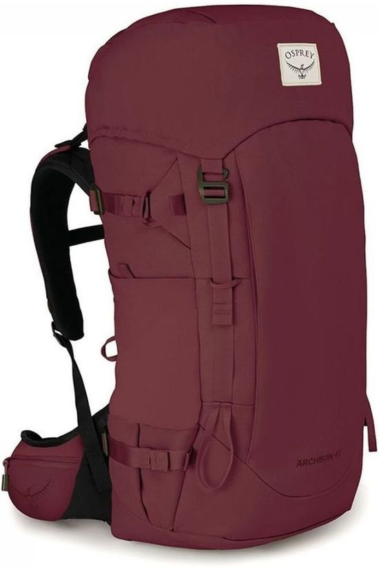 Osprey Tourpack Archeon 45 Women's dark red