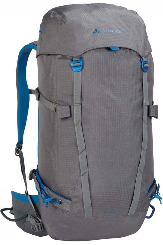Vaude Tourpack Rupal 35+ dark grey