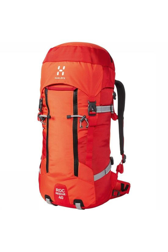 Haglöfs Tourpack Roc Rescue 40 red/mid red