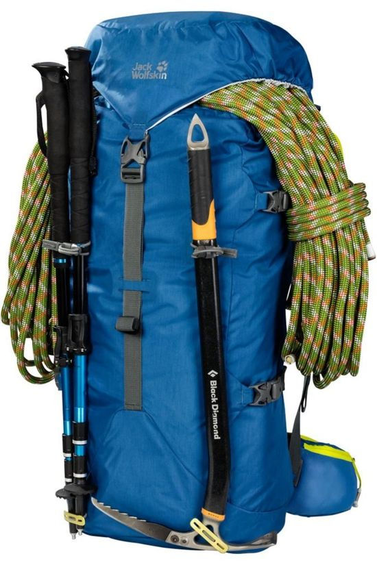 Jack Wolfskin Tourpack Mountaineer 42 Blue/Lime Green