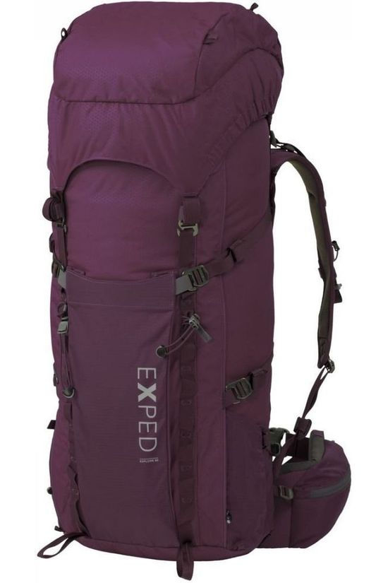 Exped Backpack  lore 60 dark purple