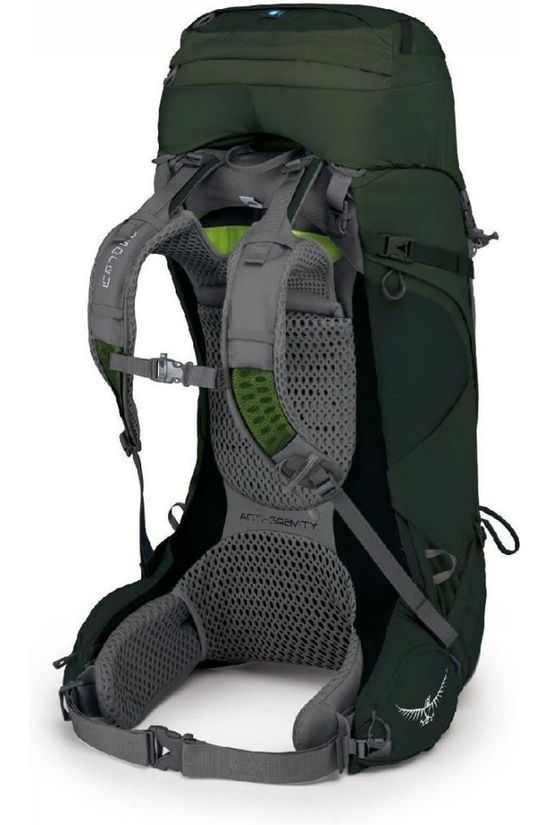 Osprey Backpack  Aether Ag 60 mid green/dark green