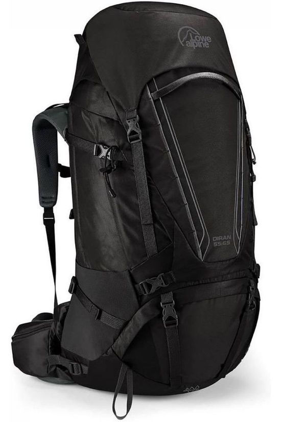 Lowe Alpine Backpack  Diran 55:65 dark grey