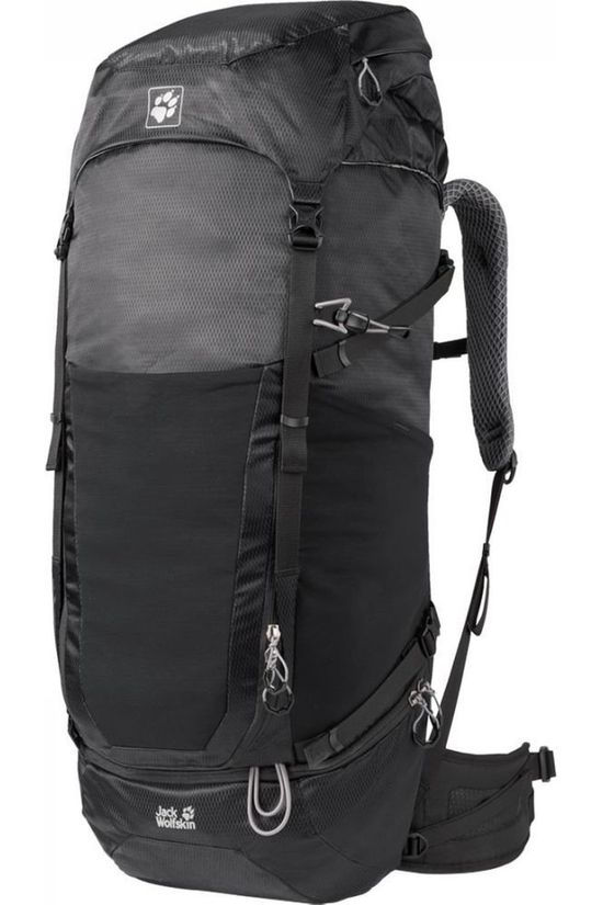 Jack Wolfskin Sac À Dos Kalari Kingston Kit 56+16 Noir
