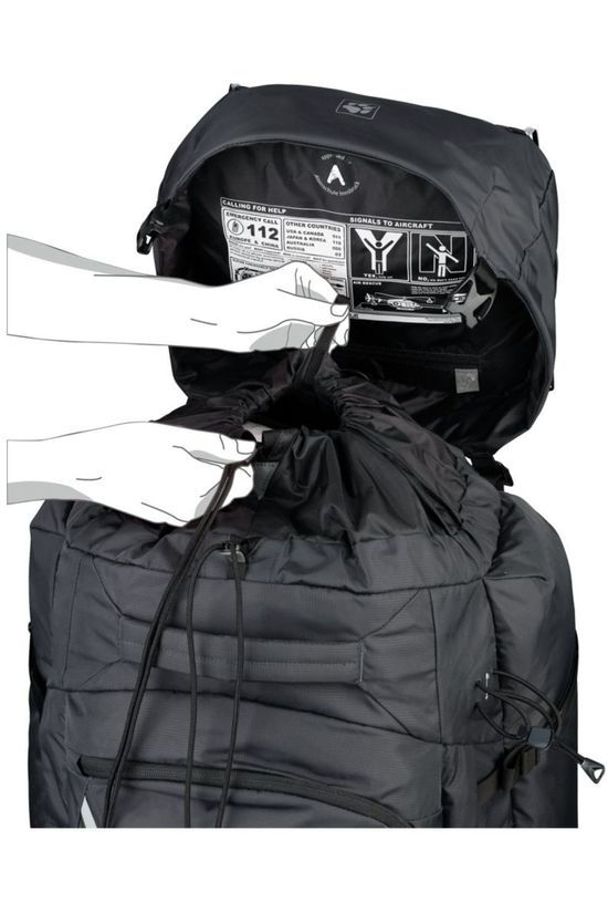 Jack Wolfskin Backpack  Denali 65 dark grey