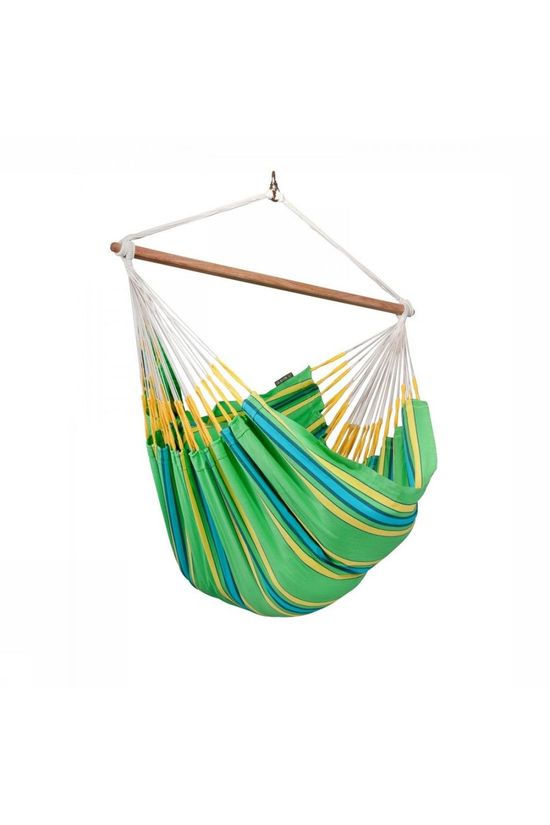 La Siesta Hammock Currambera Lounger Chair Light Green/Assorted / Mixed
