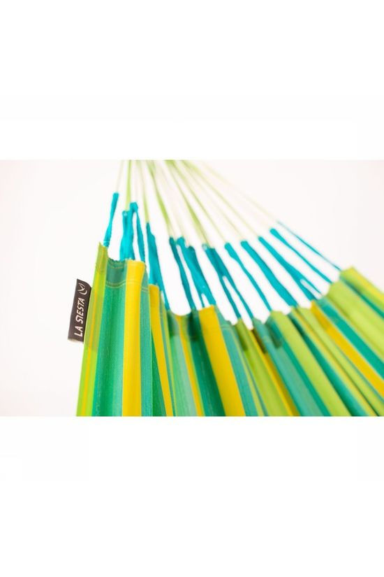 La Siesta Hammock Brisa Double Lime Green/Yellow