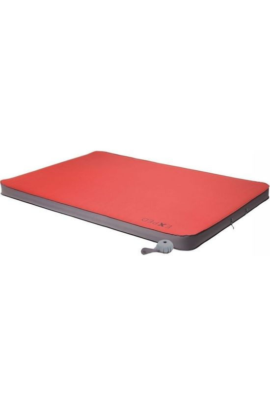 Exped Air Bed Megamat Duo 10 Lw+ mid red/mid grey
