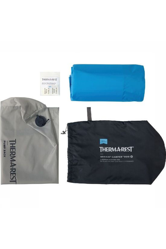 Therm-a-Rest Luchtbed  Neoair Camper Duo Blauw