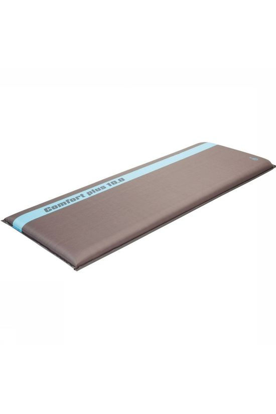 Bo-Camp Sleeping Mat Si Comfort Plus 10.0 198X63X10 Cm dark grey/light blue