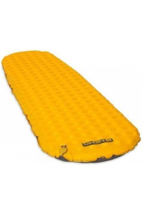 Nemo Tapis de Couchage Tensor Insulated Regular Mummy Jaune Moyen