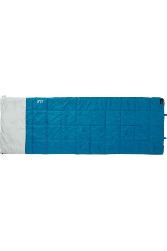 Jack Wolfskin Sac de Couchage 4 In 1 Blanket Turquoise