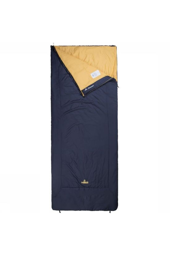 Nomad Sleeping Bag Aztec Navy Blue/Mid Yellow