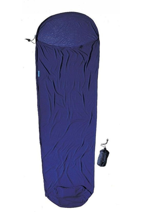 Cocoon Sleeping Bag Coco Mummy Coolmax blue