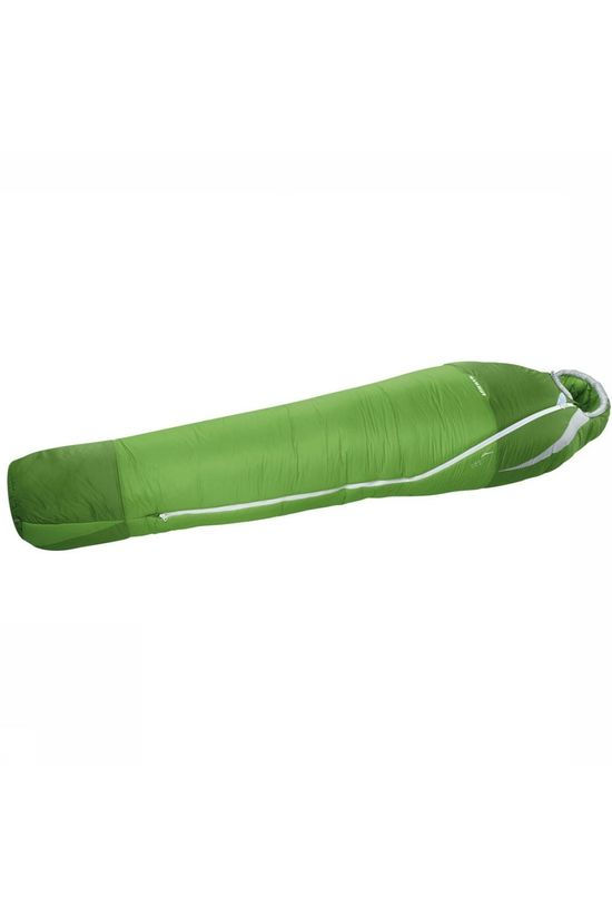 Mammut Sleeping Bag Kompakt MTI 3-Season Regular green/dark green