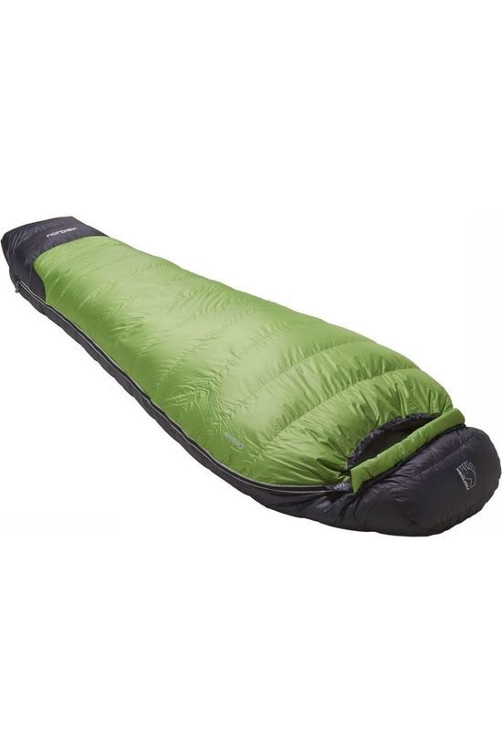 Nordisk Sleeping Bag Celsius -10° Large mid green/black