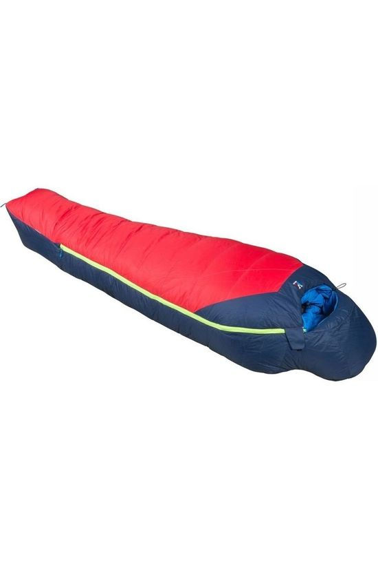 Millet Sleeping Bag Trilogy Ultimat red/dark blue