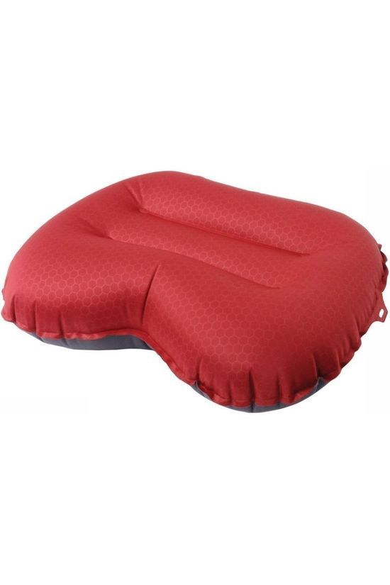 Exped Pillow Air M dark red/mid grey