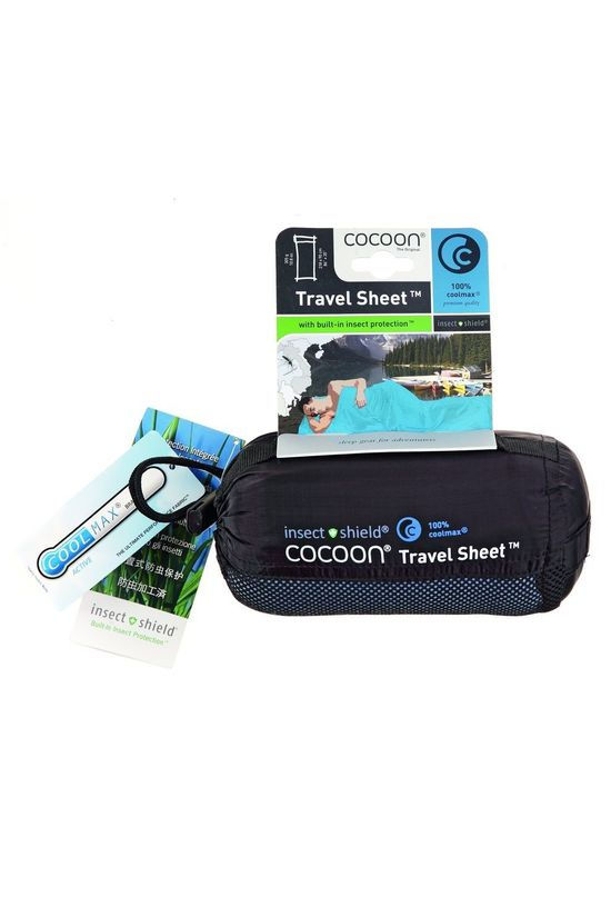 Cocoon Liner Insect Shield Coolmax light blue