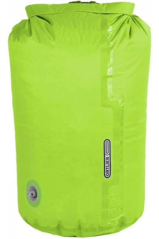 Ortlieb Accessoire Lightw. Compr. Dry Bag With Valve 12L Orange Lichtgroen