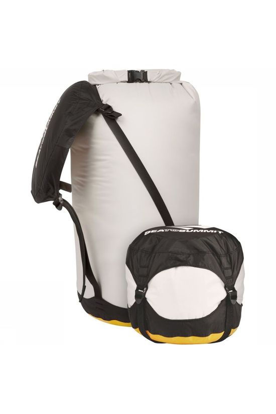 Sea To Summit Accessoire Event Compression Dry Sack Xl 30L light grey/mid yellow
