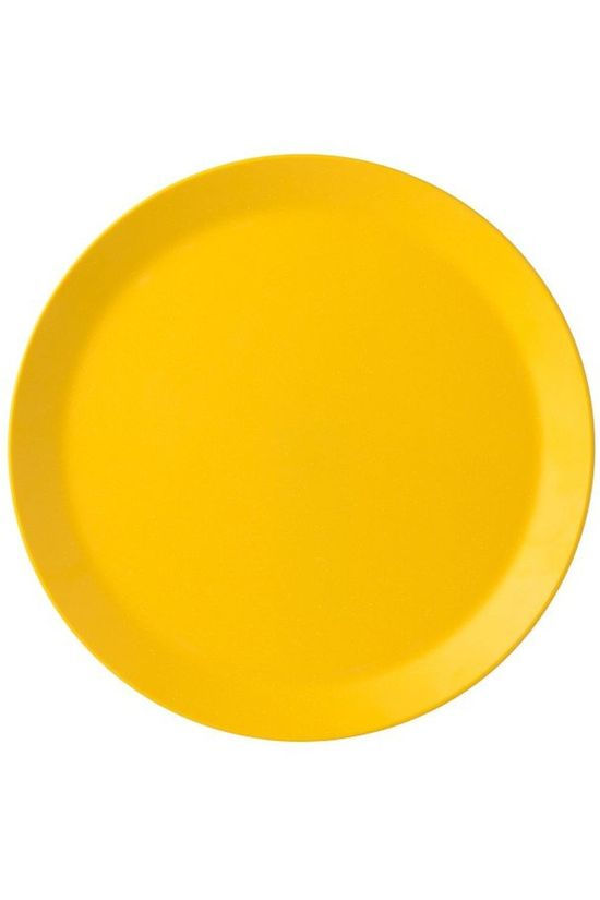 Mepal Plate Bloom Plat dark yellow