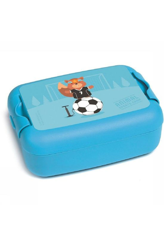 Amuse Storage Jar Animal Carnival Lunch, Snack en Fruitbox dark blue