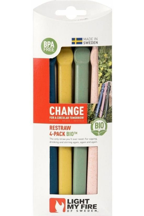 Light My Fire Miscellaneous Restraw Bio 4-Pack No colour / Transparent