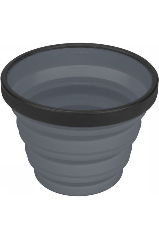 Sea To Summit Cup X-Cup Campingservies Inklapbaar dark grey