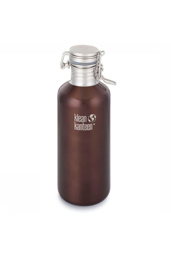 Klean Kanteen Drinkfles Classic Growlers Lock 1,2L Donkerbruin