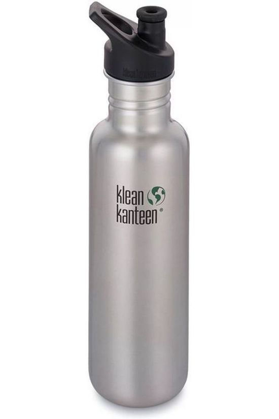 Klean Kanteen Gourde Classic Single Wall 27Oz 800Ml Sport Argent