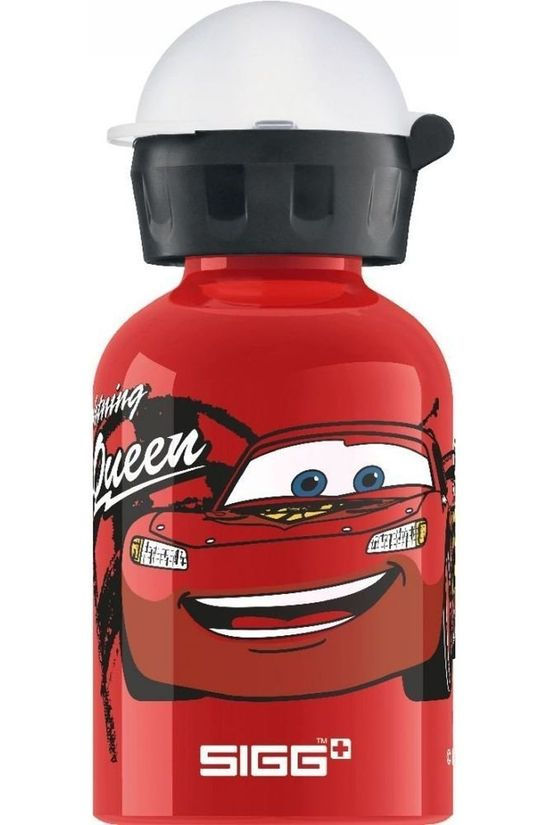 Sigg Drink Bottle Cars Lightning Mcqueen 0.3L Mid Green/Assorted / Mixed