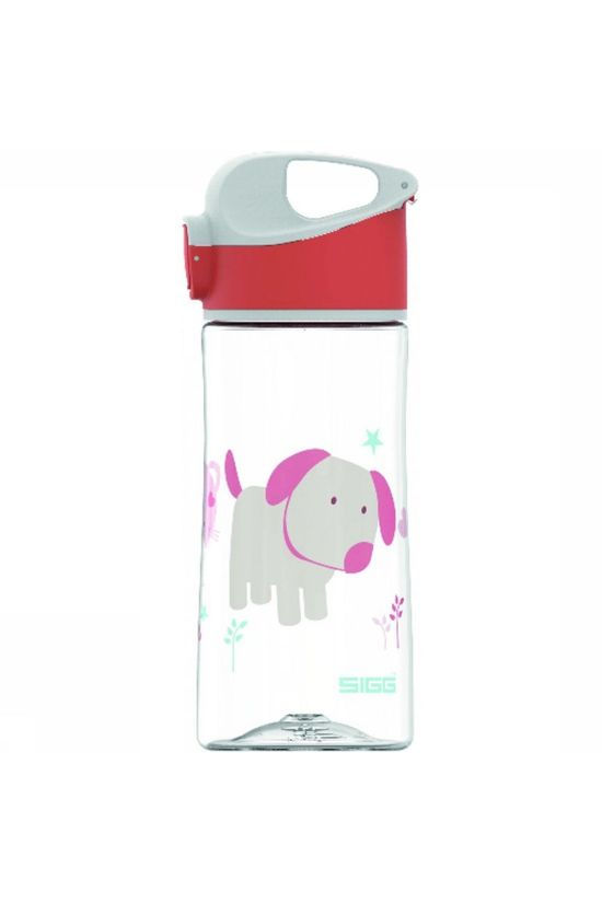 Sigg Drink Bottle Mk Puppy Friend 0,45L Red/Assorted / Mixed