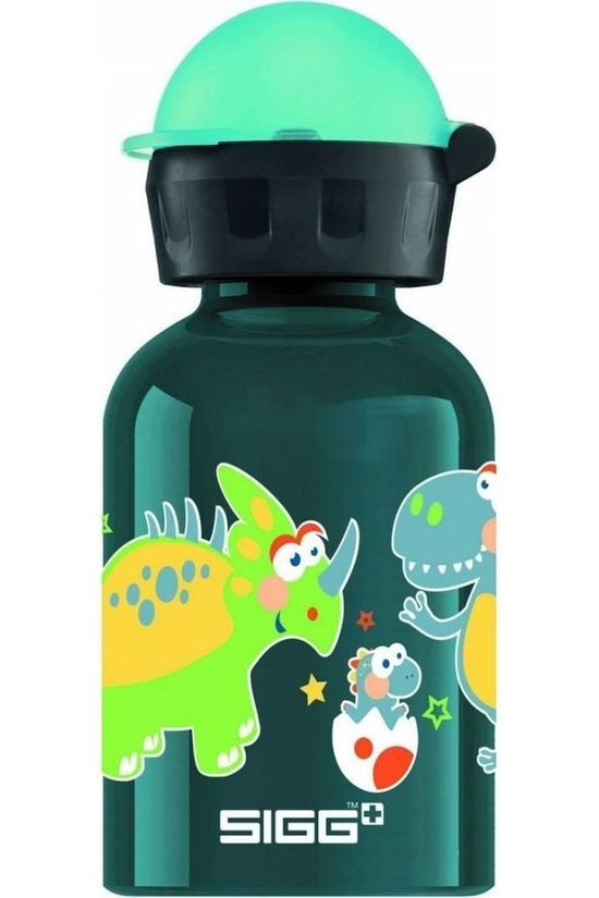 Sigg Drink Bottle Small Dino 0,3L Petrol/Assorted / Mixed