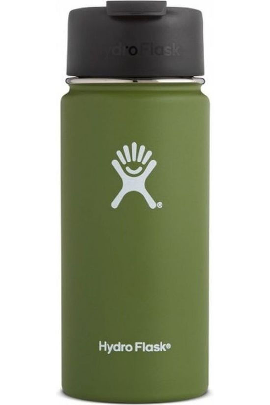 Hydro Flask Bouteille Isotherme 16oz/473ml Wide Mouth Coffee Kaki Moyen