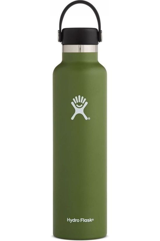 Hydro Flask Insulated Bottle 24oz/709ml Standard Mouth mid khaki