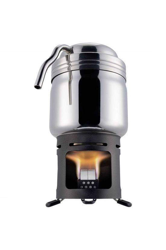 Esbit Miscellaneous Koffie-Maker Pot + Brander silver/black