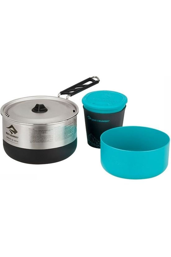 Sea To Summit Pot Sigmaset 1,1L Geen kleur / Transparant