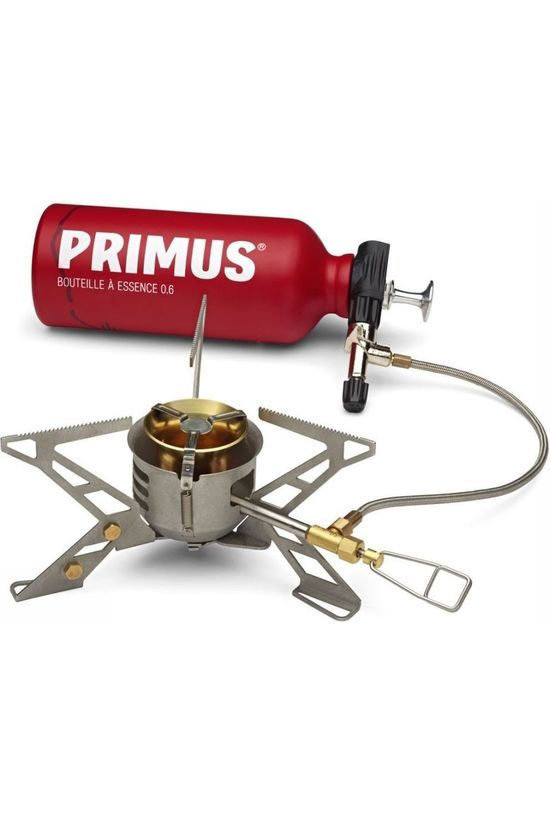 Primus Stove Omnifuel II With Bottle And Pouch No colour / Transparent